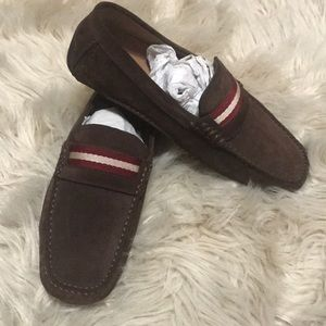 Brown Suede Bally Shoes size 7.5